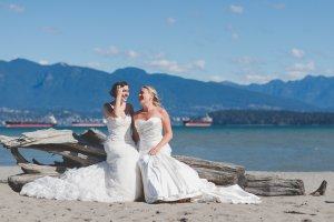 Jericho Beach Bridal Shoot | Vancouver LGBTQ Wedding Photographer