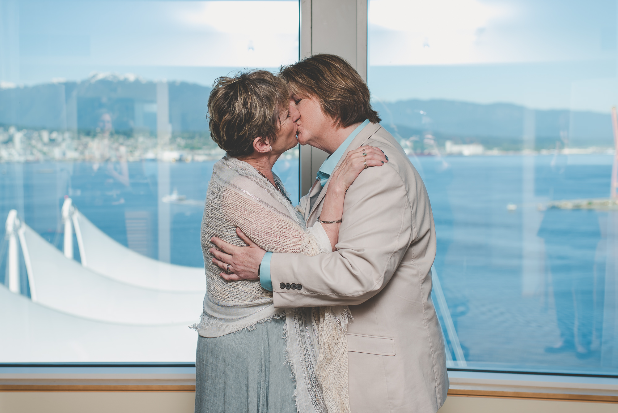 Pan Pacific Hotel Elopement | Vancouver LGBTQ Elopement Photographer
