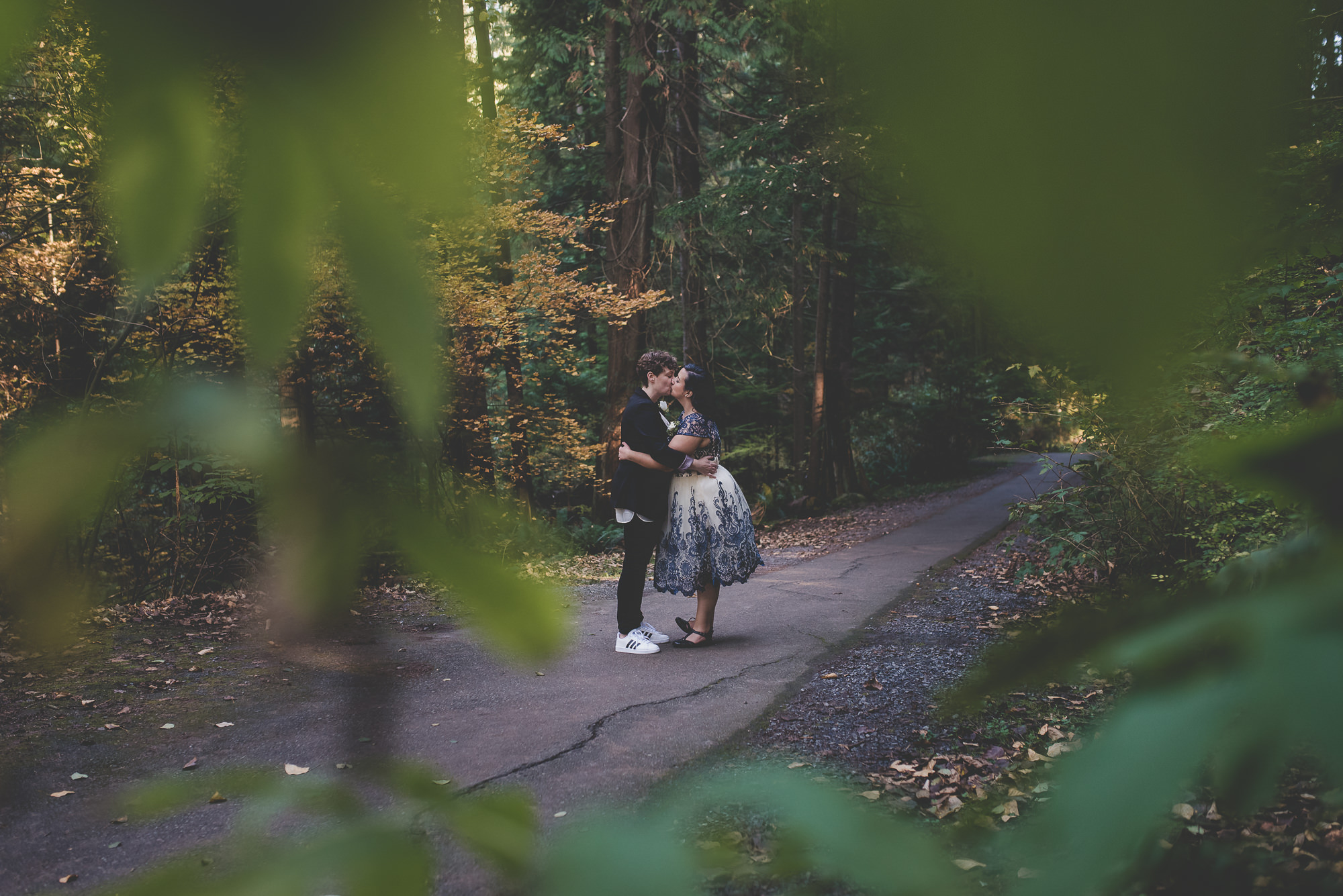 Deep Cove Elopement | North Vancouver LGBTQ Wedding Photographer