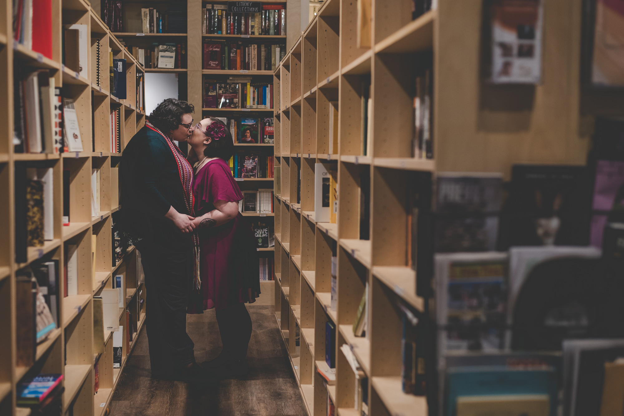 Massy Books Engagement | Vancouver LGBTQ Engagement Photographer