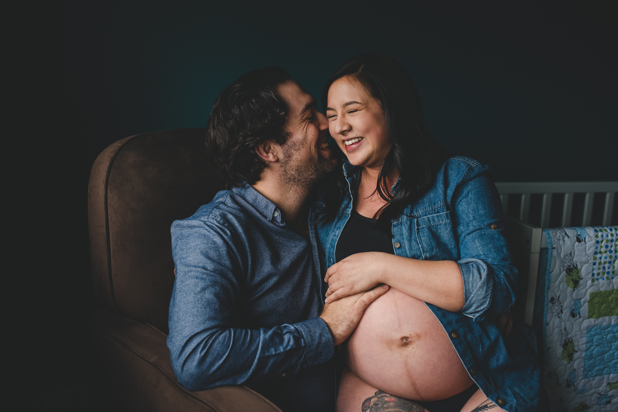 Vancouver In-Home Maternity | Vancouver Maternity Photographer