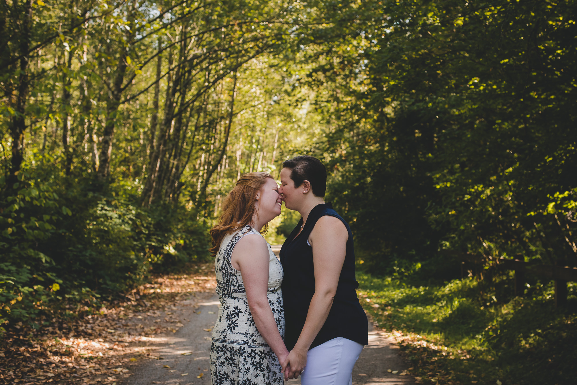 Bear Creek Park Elopement | Surrey LGBTQ Elopement Photographer
